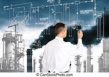 techniek, industriebedrijven, technologie