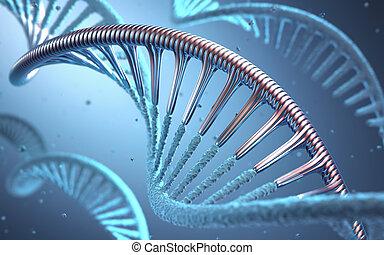 technik, genetisch, dns