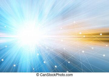 technika, grafické pozadí, internet, pohyb, pojem, design., úspěch, silný
