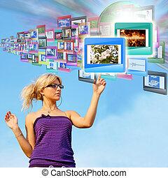 technika, internet