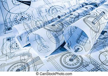 technique, dessins