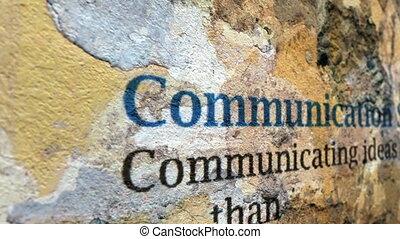techniques, communication, concept, grunge