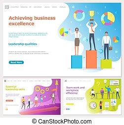techniques, excellence, essentiel, business, accomplir