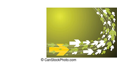 technisch, groene achtergrond