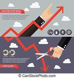 technisch, infographic, analyse, strategie