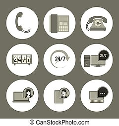 technisch, ontwerp, dienst
