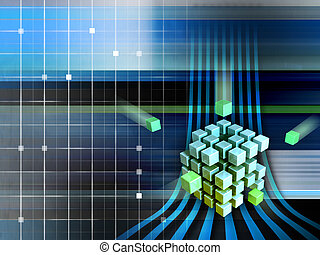 techno, 立方体