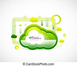 Techno cloud