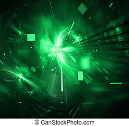techno, explosión, digital