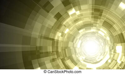 Techno Tunnel Background