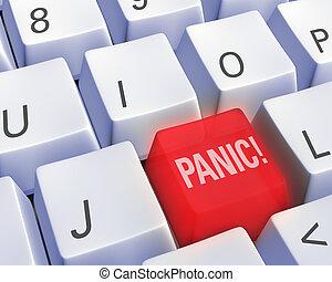 technológia, -, panic!