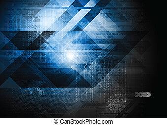 technologia, abstrakcyjny zamiar