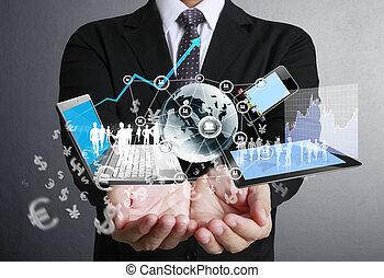 technologia, w, przedimek określony przed rzeczownikami, siła robocza