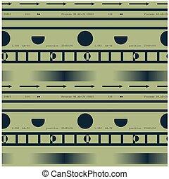 Technological seamless pattern
