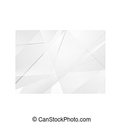 technologie, abstract, grijze , polygonal, achtergrond, collectief