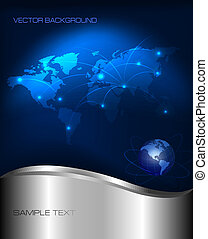 technologie, achtergrond, abstract