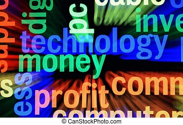 technologie, argent, profit