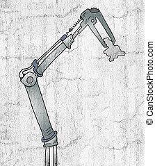 technologie, arm