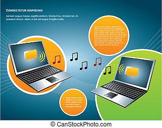 technologie, bewegliche kommunikation