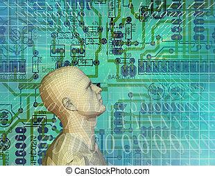 technologie, circuit