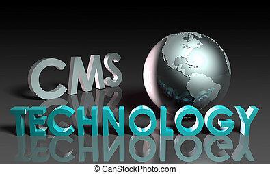 technologie, cms