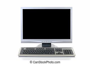 technologie, computer, hoi
