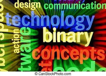 technologie, concept