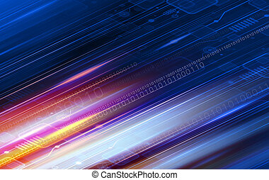 technologie, conception, fond