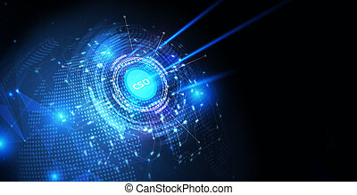 technologie, cso, homme affaires, inscription:, internet, lunettes, business, réalité virtuelle, jeune, concept., voit, fonctionnement, réseau