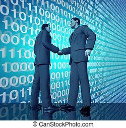 technologie, delen
