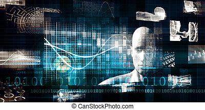 technologie, diensten