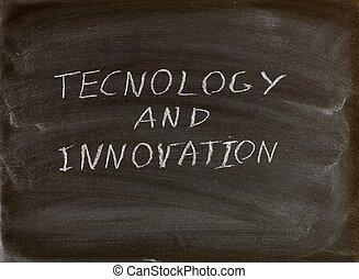 technologie, en, innovatie