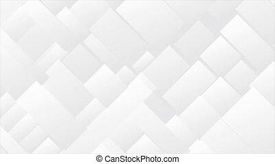 technologie, géométrique, mouvement, mosaïque, résumé, gris, fond