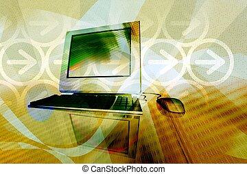 technologie, geschaeftswelt