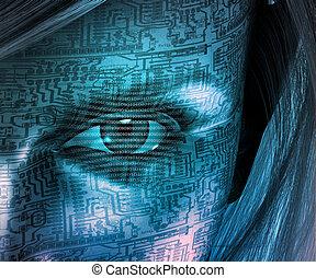 technologie, humain