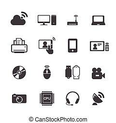 technologie- ikonen