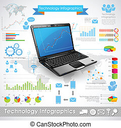 technologie, infographic
