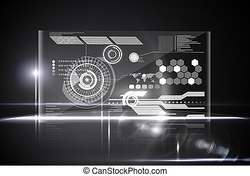 technologie, interface
