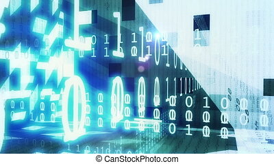 technologie, intro, animatie, alfa