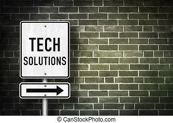 technologie, lösungen