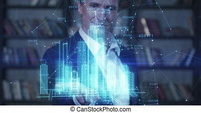 technologie, mooi, groeiende, vertragen, succesvolle ,...