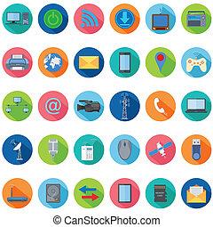 technologie, pictogram