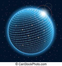 technologie, planeet