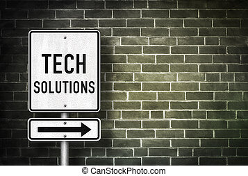 technologie, solutions