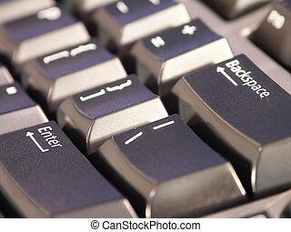 technologie, tastatur