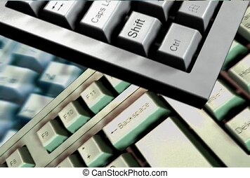 technologie, toetsenbord, computer