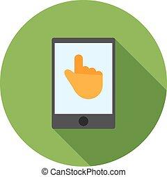 technologie, touchscreen