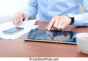 technologie, workflow, nowy
