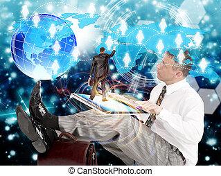 technologien, e-business, internet