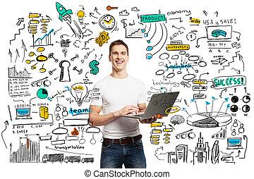 technologies, concept, business